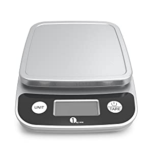 1byone digital kitchen scale precise cooking scale review