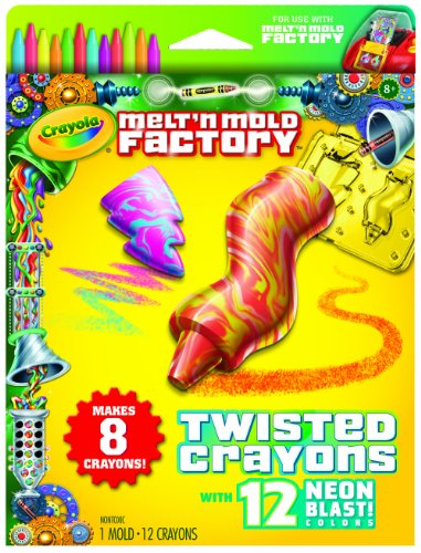 Crayola Melt 'N Mold Twisted Crayons Expansion Pack front-1004007