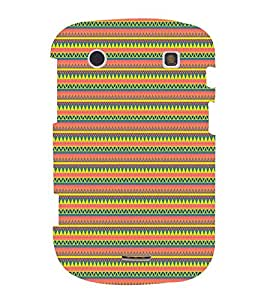 Janda Flag Pattern Cute Fashion 3D Hard Polycarbonate Designer Back Case Cover for BlackBerry Bold Touch 9900 :: BlackBerry Dakota :: BlackBerry Magnum