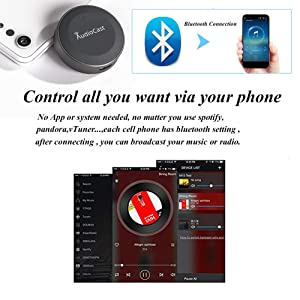 Anewish Wireless Bluetooth Audio Receiver Bluetooth 4 2