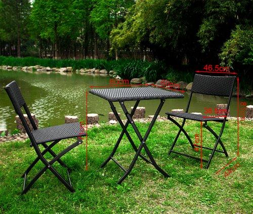 Sobuy arredo da giardino set da giardino mobili da for Arredo terrazza giardino offerte