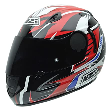 NZI 010264G727 Premium S Graphics Arrows, Casque de Moto, Taille XL Multicolore