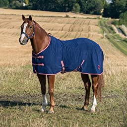 Horze Base Fleece Rug - Size:72 Color:Black