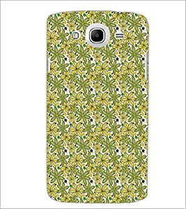 SAMSUNG GALAXY MEAGA 5.8 LEAFS PATTERN Designer Back Cover Case By PRINTSWAG