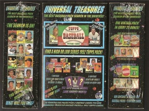 Universal Treasures baseball Card Chase Box