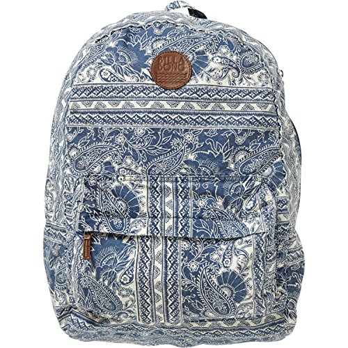 Billabong Women'S Hand Over Love Backpack Blue Moon One Size front-1038075