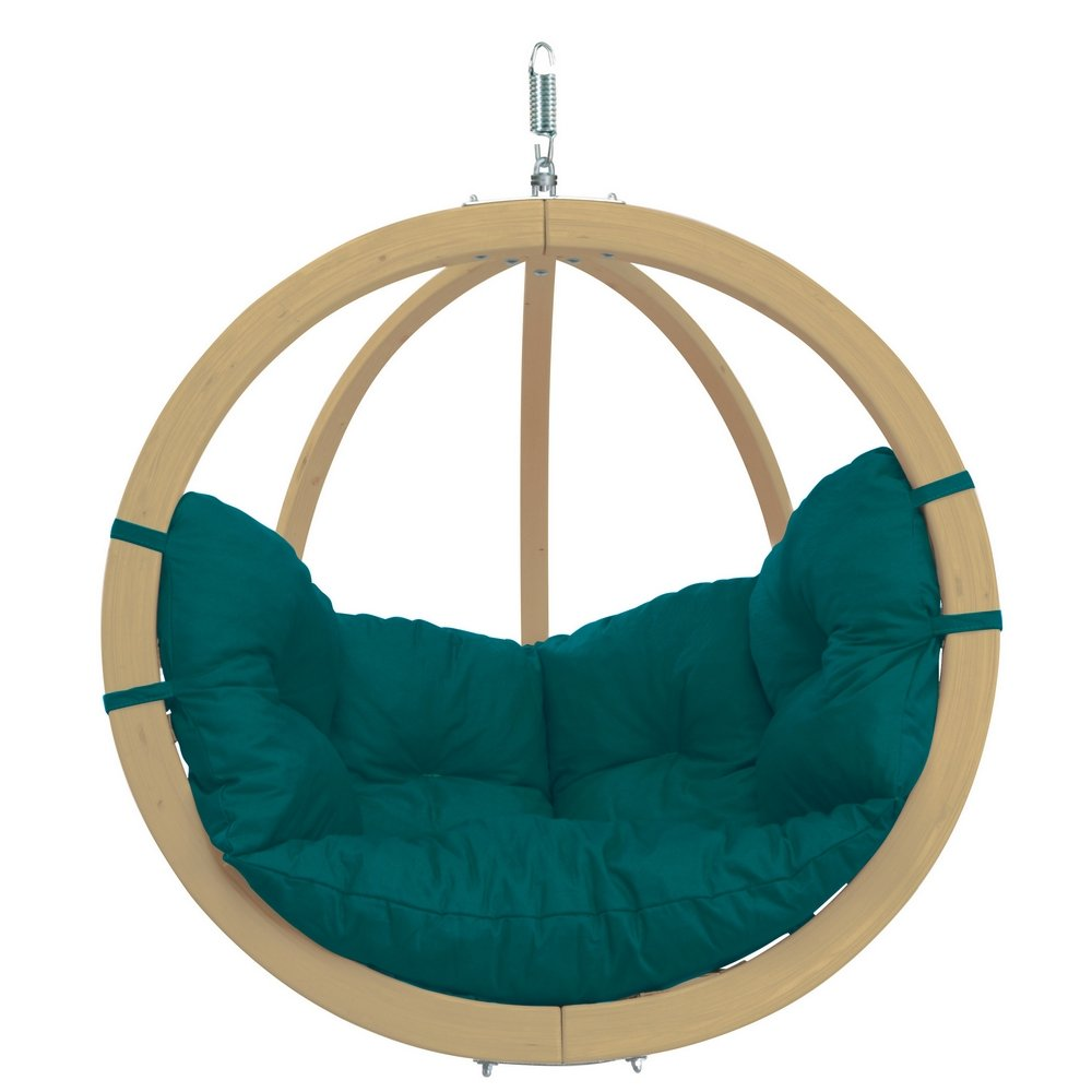 Amazonas Holzschaukel Globo Chair green
