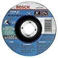 Bosch TCW27C500 1/16 by 7/8-Inch, 5-Inch Thin Masonry Cutting Type 27 Grinding Wheel, 25-Pack