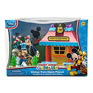 Mickey Mouse Disney Mickey Mouse Mickey Mouse Clubhouse Mickey Mouse Train Depot Play Set