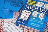 MICHAEL'S GAME: Mens stocking stuffer for men called MICHAEL, MIKE, MICK, MICKY etc (also secret santa or fun birthday gift for male or Christmas present).