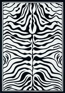 Lalee Contempo 450 347077977 Rug 80 x 150 cm Black / White by Lalee