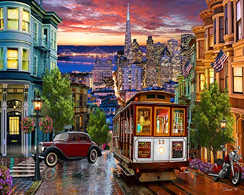 Buy San Francisco Jigsaw Puzzle Now!