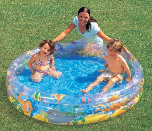 Bestway 51004 - Pool 3-Ring bunt, ca. 152 cm