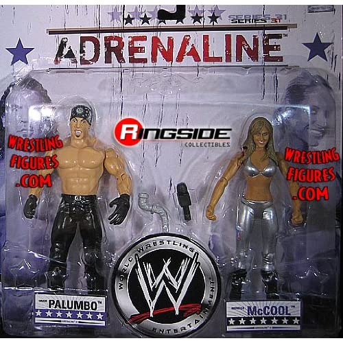 Amazon.com: CHUCK PALUMBO & MICHELLE MCCOOL ADRENALINE 31 WWE JAKKS 2