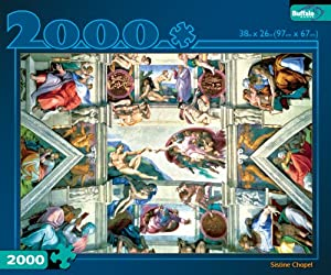 Sistine Chapel 2000 Pieces Jigsaw Puzzle