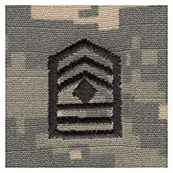 Army ROTC Rank SEW-ON for Patrol Cap - ACU DIGITAL (Cadet - 1st SGT)