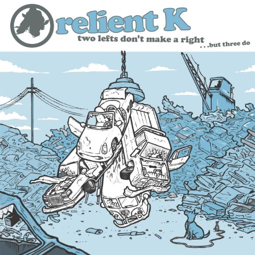 Original album cover of Two Lefts Don't Make a Right... But Three Do (Gold Edition) by Relient K