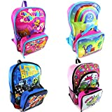 Disney Pixar Nickelodeon Backpack with Lunch Box