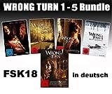 Wrong Turn 1-5 Bundle, Set, 1,2,3,4,5 – Alle Teile FSK18