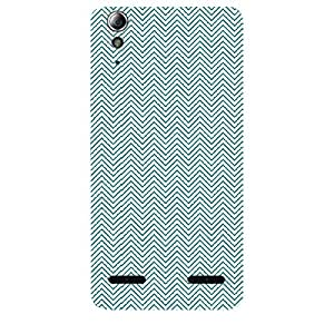 Skin4gadgets CHEVRON PATTERN 30 Phone Skin for LENOVO A6000 PLUS