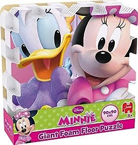 Disney - Minnie Mouse - Puzzle de sol géant en mousse