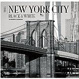 New York City 2015 - schwarz-weiß: Original BrownTrout-Kalender [Mehrsprachig] [Kalender]