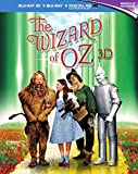 The Wizard of Oz - 75th Anniversary Edition [Blu-ray 3D + Blu-ray] [1939] [Region Free]