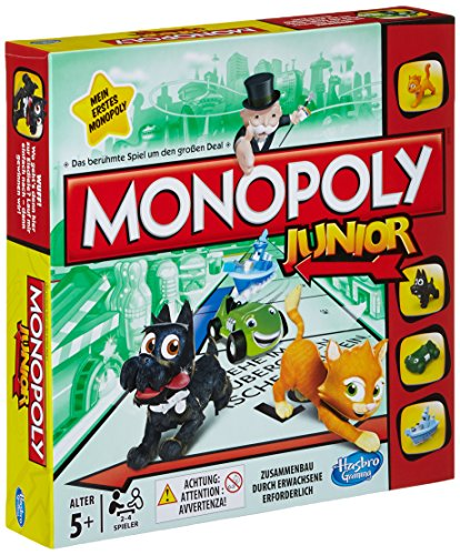Hasbro A6984100 - Monopoly Junior Edition 2014 Children's [German Version]