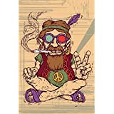 Funky Baba Pin Up Original Big Size Poster | Posters | Original Big Movie Poster Size | News Paper Size 14 Inch...