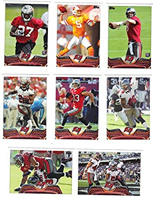Tampa Bay Buccaneers 2013 Topps NFL Football Complete Regular Issue 13 Card Team Set Including Doug Martin, Vincent Jackson, Mike Glennon and Others