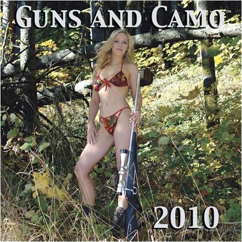 GUNS AND CAMO 2010 WALL CALENDAR 12