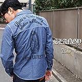 【SLANGY】 シャンブレーシャツ SOUL JAPAN オラオラ
