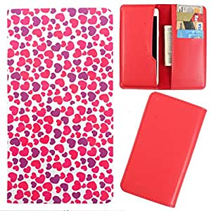 DooDa - For XOLO Q700s Plus PU Leather Designer Fashionable Fancy Case Cover Pouch With Card & Cash Slots & Smooth Inner Velvet