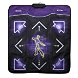 Light Up Non-slip Dance Mat Rhythm and Beat Game Dancing Step Pads USB Lose Weight Pads Dancer Blanket with USB for PC Laptop