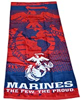 Officially Licensed U.S. Marines The Few The Proud Beach Towel from The Northwest Company