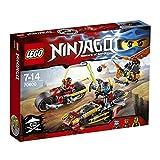 レゴ (LEGO) ニンジャゴー ニンジャのパワーバイク 70600
