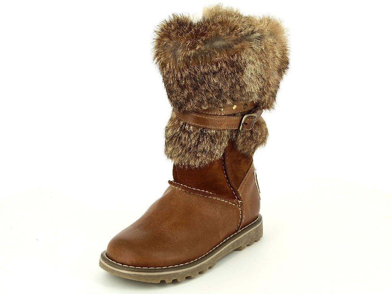 Chérie 4753 cuoio Mädchen Warmfutter Stiefel in Mittel online kaufen