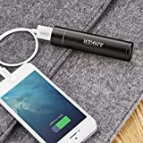 Anker PowerCore+ mini 3350mAh Lipstick-Sized Portable Charger (3rd Generation, Premium Aluminum Power Bank) Most Compact External Battery, Uses High-Quality Panasonic Cells