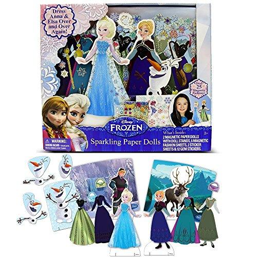Disney-Frozen-Sparkling-Paper-Dolls-By-Tara-Toy