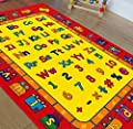 Hr's 8ftx11ft Kids Educational/playtime Rug 7ft.4inx10ft.4in (abc Fun)
