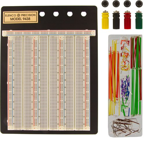 Elenco 9438 Breadboard With JW-140 Jumper Wire Set