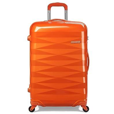 【クリックで詳細表示】[アメリカンツーリスター] AmericanTourister Crystalite / クリスタライト スピナー 69 (69cm/70L/4.1Kg) (スーツケース・キャリーケース・トラベルバッグ・TSAロック装備・軽量・大容量・ファスナー・保証付) R87*76003 76 (サンセットオレンジ): シューズ&バッグ:通販