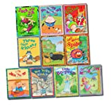 Miles Kelly Nursery Library Stories 10 Books Set Children Collection Incy Wincy Spider And Friends, Little Bo-Peep, Baa Baa Black Sheep, Jack And Jill, Little Jack Hornet, Little Miss Muffet, Three Little Kittens, Old King Cole, Humpty Dumpty, Wee Willie