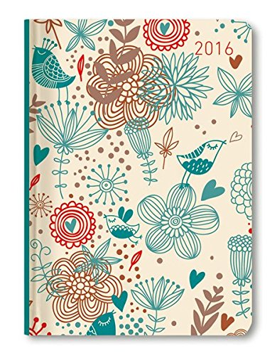 Alpha Edition 160825 Ladytimer Birds Agenda Settimanale 2016 107 X 152 cm 192 Pagine PDF