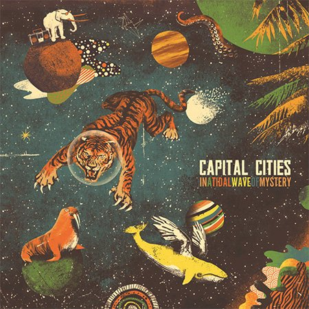 Pop CD, Capital Cities - In A Tidal Wave Of Mystery[002kr]