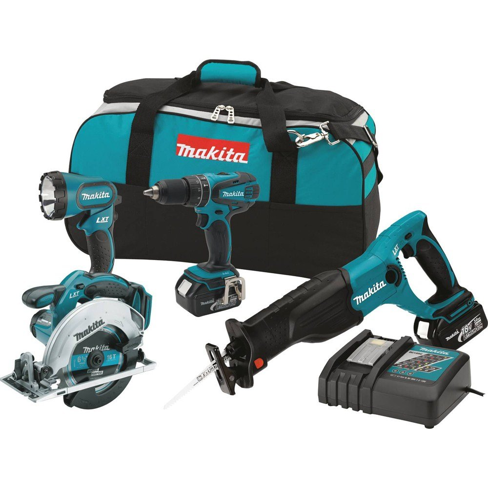 Makita XT406 18-volt LXT Combo Kit, 4-Piece - - Amazon.com
