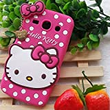 Anvika Hello Kitty Back Cover For Samsung Galaxy Core 2 / SM-G355H - Pink