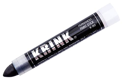 Krink K-80 Solid Paint Marker, Black via Amazon