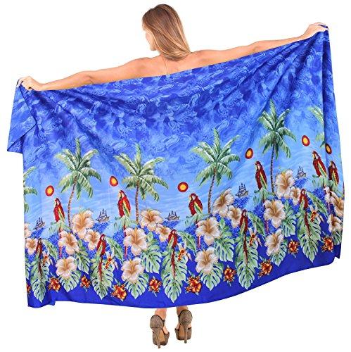 la-leela-likre-caribbean-plus-size-hawaiian-sarong-cover-up-88x39inch-royal-blue