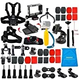 LifeLimit-Accessories-Starter-Kit-for-Gopro-4-Hero-32HDHERO-Wi-Fi-Enabled-LCD-Black-Silver-Cameras